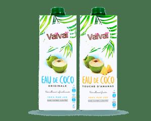 Vaivai eau de coco 100% naturelle
